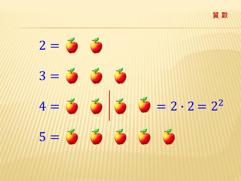 因數分解-質數